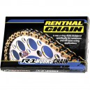 CHAINE SUPER RENFORCÉE 420 RENTHAL R1 112 MAILLONS