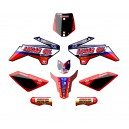 KIT DECO N-STYLE LUCAS TLD ROUGE YCF 50A 2012-2015