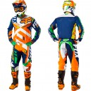 TENUE FOX RACING 360 DIVIZION BLEU/JAUNE 2016