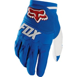 GANTS FOX RACING DIRTPAW BLEU 2016