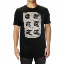 TEE SHIRT FOX RACING TRANSPARENT NOIR