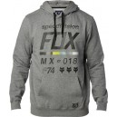 SWEAT SHIRT FOX RACING LEGACY CREW GRIS